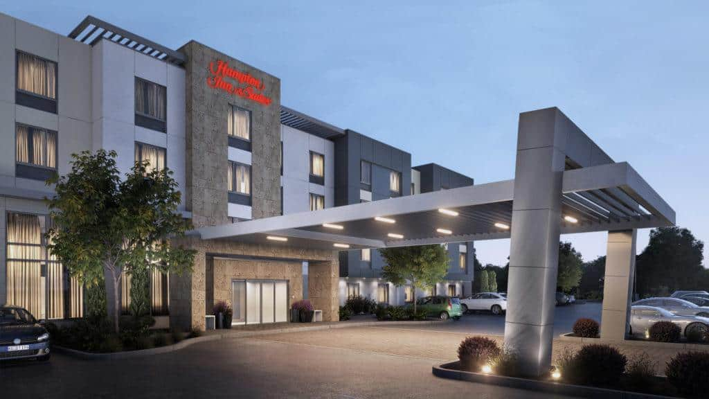 Hilton Hampton Inn Suites viešbutis