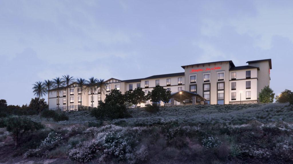 Hilton Hmapton Inn Suites viešbutis