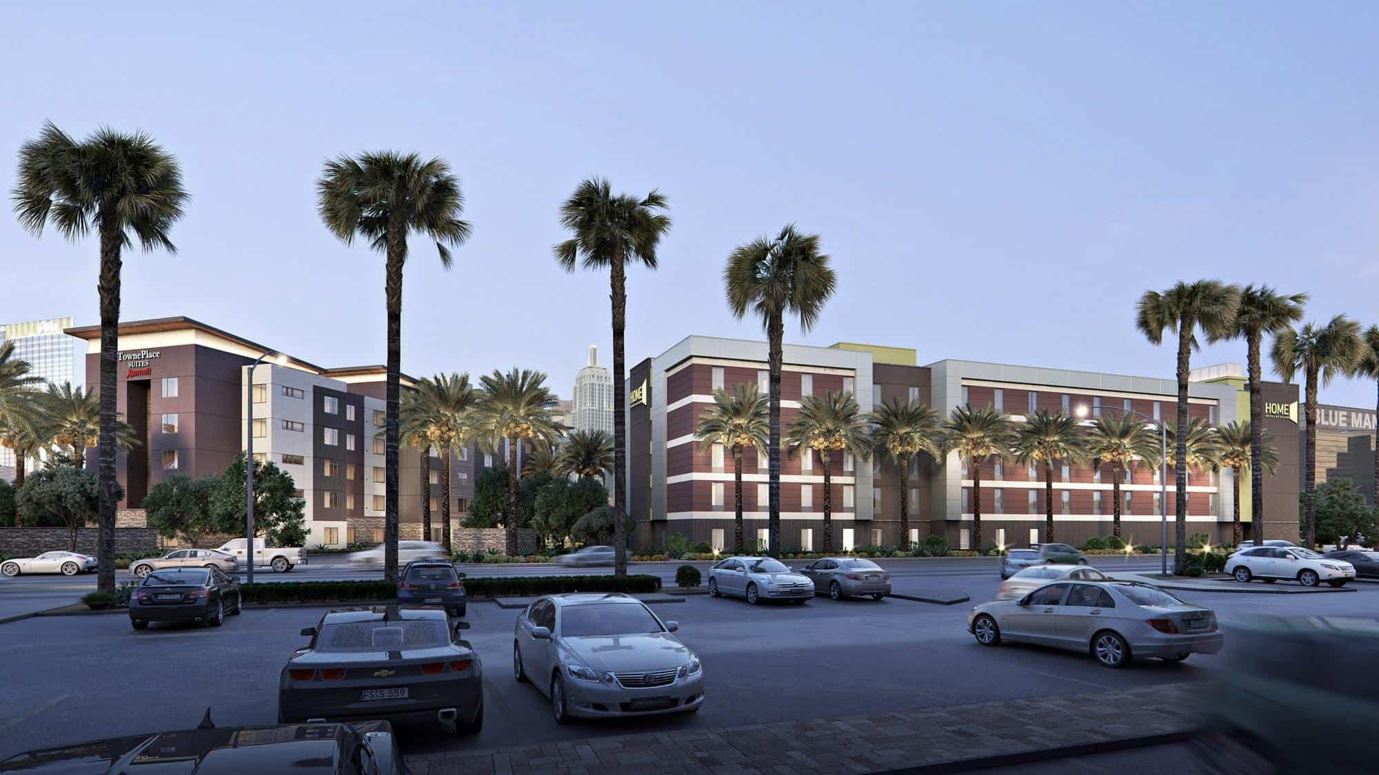 Hilton Home2 Suites viešbutis